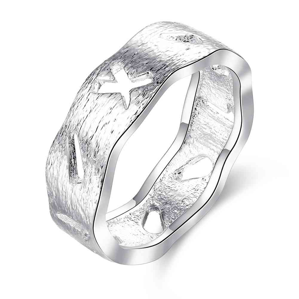 free shipping online shopping india silver plated wedding ring carved designs opal horloge smtr752china