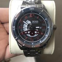 2019 BOSS Men Watch Fashion Sport Mens Quartz Watches Top Brand Luxury Full Steel Business Waterproof Watch Relogio Masculino