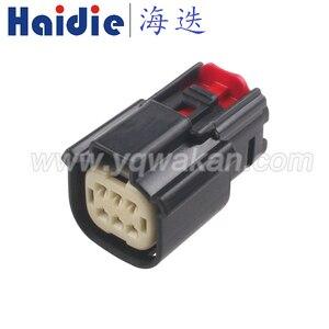 Darmowa wysyłka 2 zestawy 6pin molex wodoodporny auto żeńskie złącze wtykowe kable w wiązce przewód plug 33472-0606