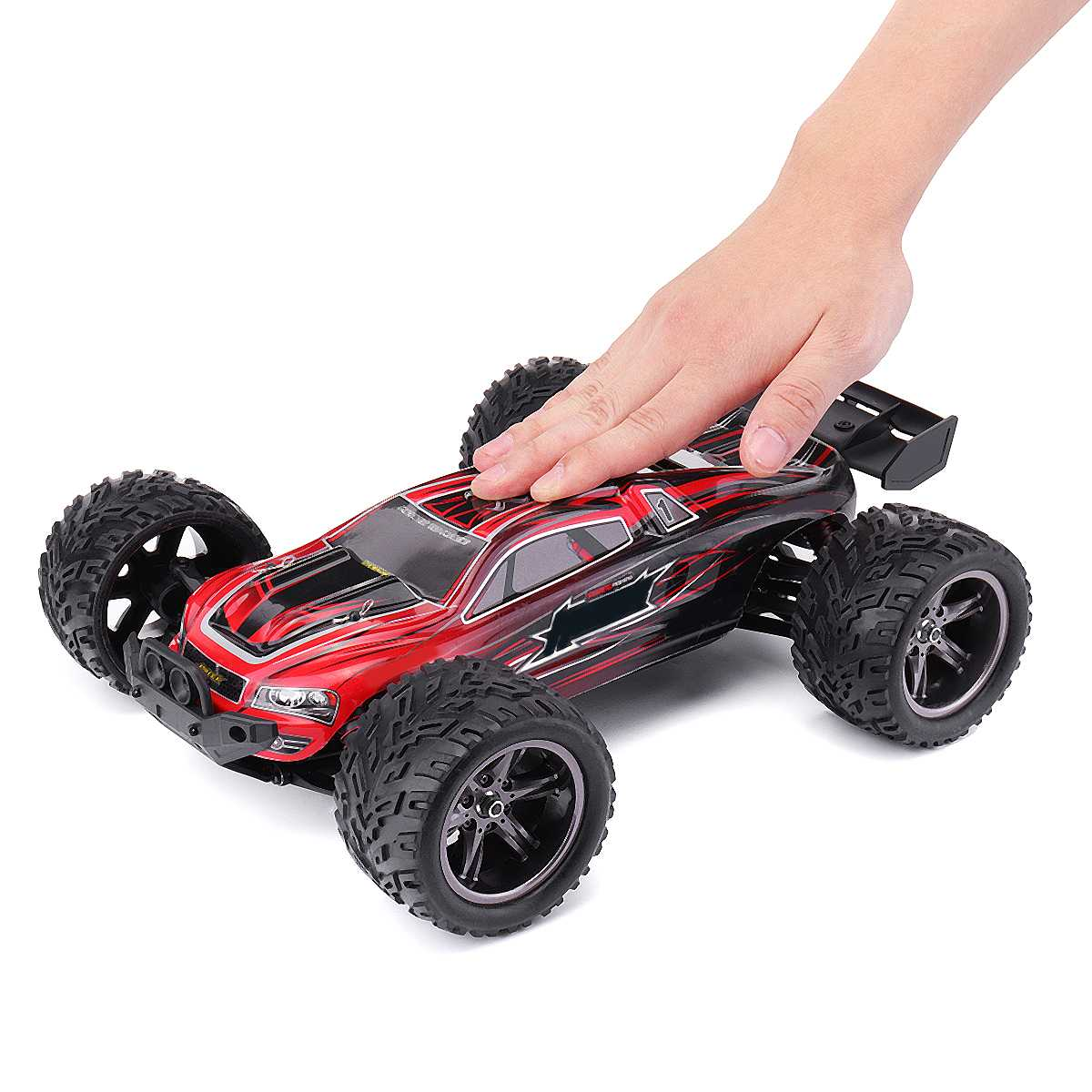 1:12 RC Car 2.4G Rock Crawlers Driving Car Waterproof Remote Control Car Model OffRoad Vehicle Toy High Speed Hobby Truck Drift image