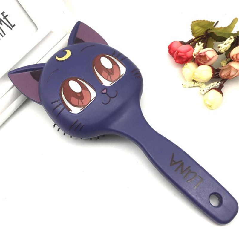 Novelty & Special Use Costumes & Accessories Anime Sailor Moon Luna Cosplay Costumes Props Fashion Comb Cute Cat Hairbrush Buy Now