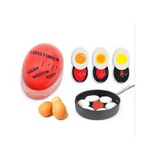 1Pcs Egg Perfect Color Changing Timer Yummy Soft Hard Boiled Eggs Cooking Kitchen Eco-Friendly Resin Red Tools