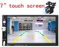 7 polegada 12 V TFT HD do bluetooth Rádio Do Carro de Áudio e Vídeo MP5 Câmera de Visão Traseira de backup com USB TF AUX Portas LCD