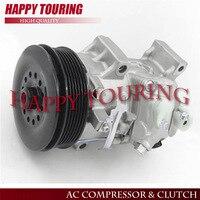 6SEU14C A/C COMPRESSOR For Car Toyota Corolla Matrix 2.4L Scion xB 2008 2012 88310 02450 88310 02520 88310 1A730 447260 1494