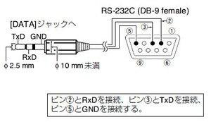 Image 3 - DB9 #2 RS232 DB9 Femminile Stereo da 2.5mm Spina del Cavo gluco Metro Radio Cavo di Programmazione DB9 #3 2.5 millimetri 3P Maschio Martinetti