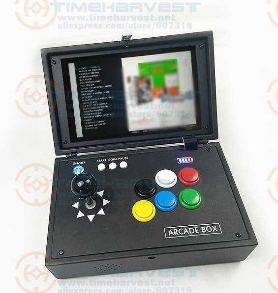 Raspberry Pi 3B+ 10 Inch LCD Video Game Console Includes 14K