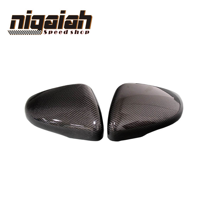 For Volkswagen Golf 6 7 mk6 mk7 gti r20 vw scirocco cc passat beatles carbon look side mirror cover golf6 golf 7 mirror cover