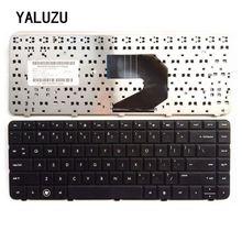 AbYALUZU 새로운 영어 키보드 HP CQ57 CQ 57 시리즈 430 630s 미국 블랙 노트북 키보드