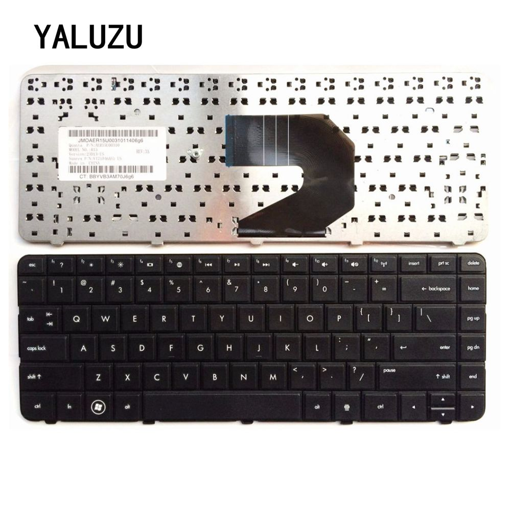 YALUZU New English Keyboard For HP CQ57 CQ-57 Series 430 630s US Black Laptop Keyboard