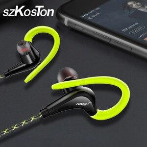 Image 1 - 3.5มม.หูฟังหูฟังหูฟังสำหรับiPhone Samsung Xiaomi Pocophone In Earกันน้ำชุดหูฟังmic