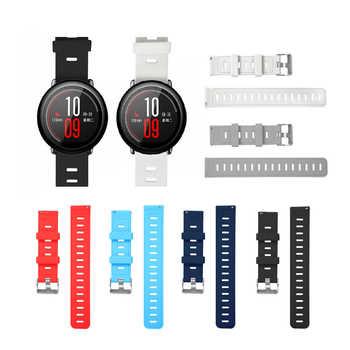 Strap für Amazfit Stratos 2 S 22mm 20mm Uhr Band für Xiaomi Uhr 1 2 Reine Farbe Ersatz armband für Amazfit Bip Bit Strap
