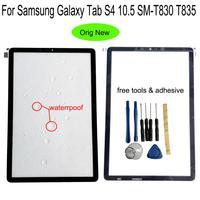Shyueda 100% newFor Samsung Galaxy Tab S4 10.5 SM-T830 T835 T837 Dış Ön Cam Panel dokunmatik ekran digitizer