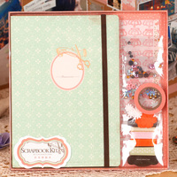 החדש DIY Scrapbook אלבומים אלבומים תמונות הילדה ילדים חליפת ערכת מדבקת חתונת רצועת כלים נייר רעיונות אלבומים תמונות מאהב סט