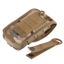 Outdoor Sports Military Tactical Camo Belt Pouch Bag Pack Phone Bags Molle Pouch Belt Camp Pocket
