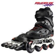 100% الأصلي 2018 powerslip الإمبراطورية حذاء تزلج بعجلات المهنية Slalom حذاء تزلج بعجلات الأسطوانة الحرة أحذية التزلج Patines الانزلاق