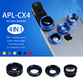 Мобильный телефон 180 градусов рыбий глаз широкоугольный объектив 0.65 раз 10 раз макро 2X Телеконвертер поляризатор для iphone HTC APL-CX4