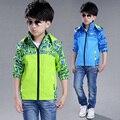 Nuevo otoño de la manera niños resorte de la capa niños chaquetas niños kids boy ropa ropa de esquí