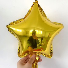 1pcs 10inch Star Balloon Inflatable Helium Baloon Wedding Birthday Christmas Party Decoration Globos Children Toy Gifts цена