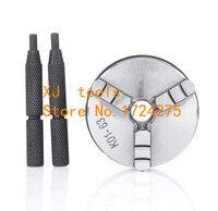 Free shipping K01 65mm 3 jaw chuck lathe chuck mini lathe chuck collet Internal thread M14X1