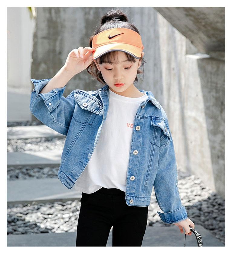 Unicórnio de lantejoulas denim jaqueta para meninas