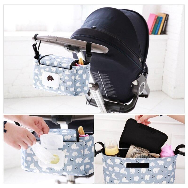 Saco de Carrinho De bebê Universal Copo Copo Titular saco Organizador Carrinho de Bebê carrinho de Bebê Carrinho de Bebê Carrinho de Saco de Acessórios