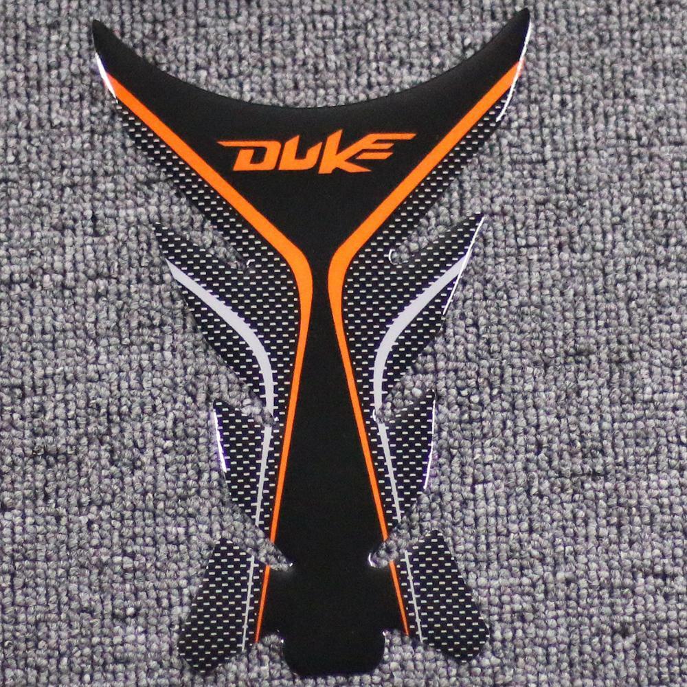 Para KTM Duke 125 200 390 690 990 1290 Etiqueta Da Motocicleta Gas Tank Pad Protector Adesivos Decalques De Corrida De Moto Universal
