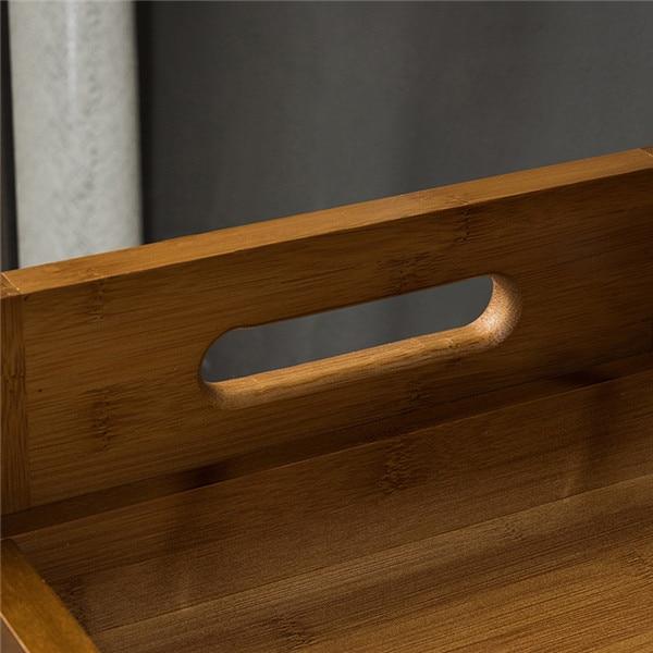 Rak kasut buluh Rak simpanan Penyelenggaraan bangku Rak perabot buluh - Perabot - Foto 5