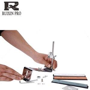 Image 4 - Yeni sürüm bıçak kalemtıraş Profesyonel Mutfak Bıçak Bileyici Bileme Fix Sabit Açı taşlar ile