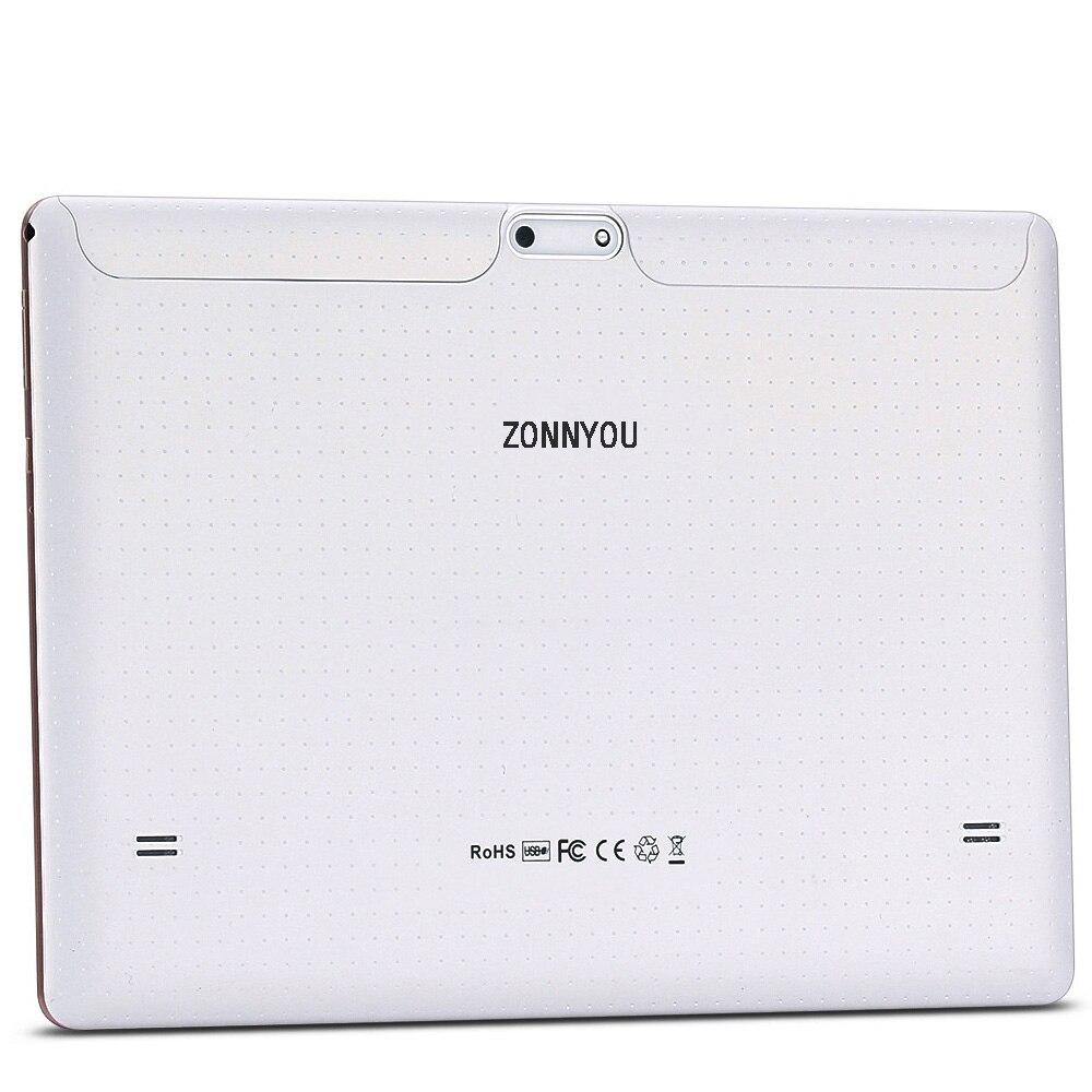 10.1 pouces tablette Android 8.0 4G/3G appel téléphonique octa-core 4GB Ram 64GB Rom intégré 3G Bluetooth Wi-Fi tablette PC + clavier - 5