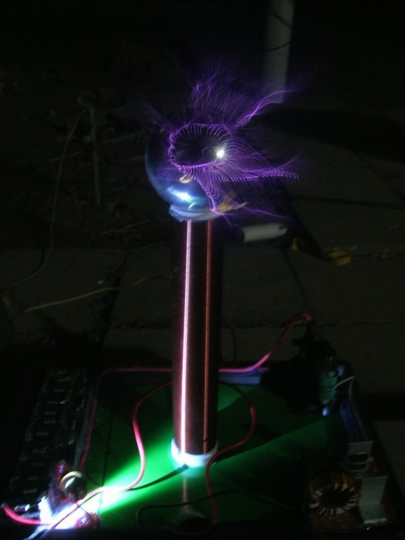 DC 12V PLLSSTC phase-locked loop solid state Tesla Coil amazing flashing high volt Marx Generator plasma speaker arc loudspeaker music tesla coil amazing flashing generator pllsstc control board teaching experiment