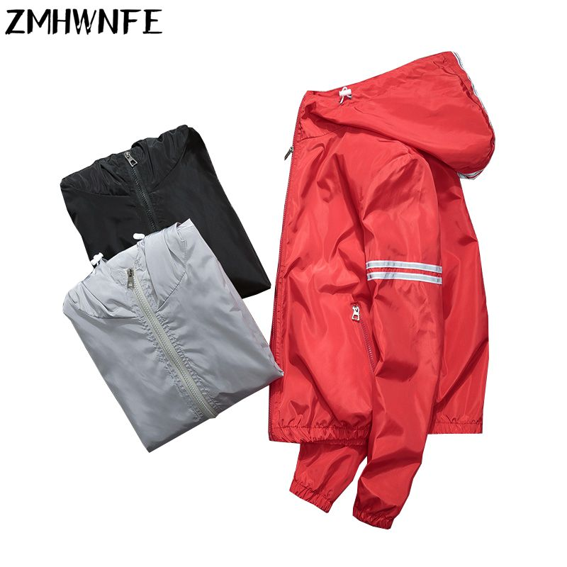 Jaqueta Feminina Inverno Summer Men And Women Zipper Hoodies Slim   Jacket   Thin   Basic     Jackets   Plus Size Outwear Fast Sun Coat
