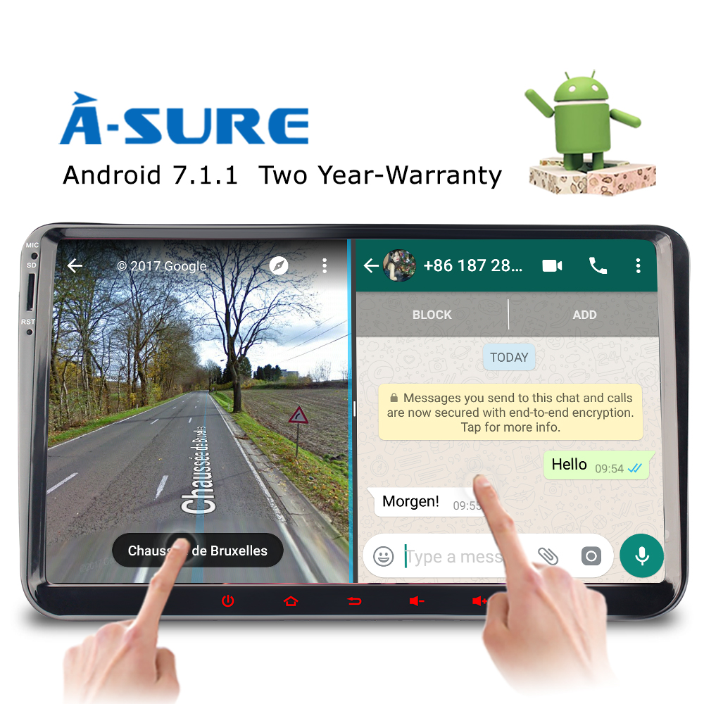 medium resolution of a sure dab 9 android 7 1 radio player navi sat nav gps for vw passat sharan tiguan touran caddy golf t5 jetta polo eos in vehicle gps from automobiles