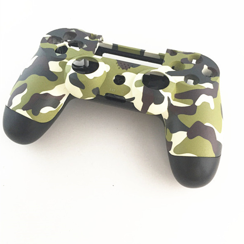 Case Cover Skin Protective Camo Replace Repair Housing Shell for Sony Playstation 4 PS4 DualShock 4 V1 Controller Camouflage image