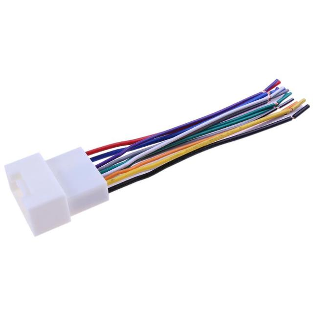 Car Stereo CD Player Wiring Harness Wire Aftermarket Radio Install Plug For Mitsubishi Outlander Pajero_640x640 aliexpress com buy car stereo cd player wiring harness wire  at creativeand.co
