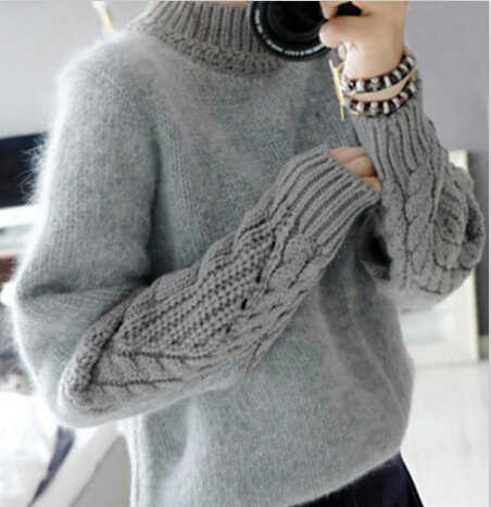 40aab123b7 Detail Feedback Questions about knitted girls winter sweaters turtleneck  teenage warm clothing 2015 children clothing manufacturers china on  Aliexpress.com ...