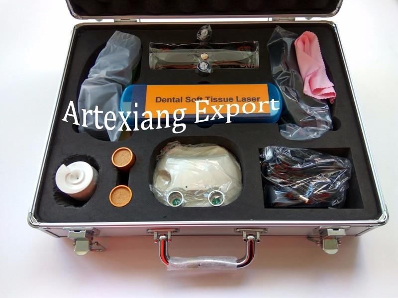 Dental Diode Laser/Soft tissue Laser/ Dental Oral Surgical Machine/3W 810nm Dental Laser Machine 16 50mm 9 0mm laser diode housing w 405nm glass lens