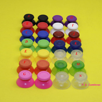 цена на 1Pair Analog Joystick Stick for Sony Playstation PS4 Joystick Caps Controller for Dualshock 4 Replacement Caps