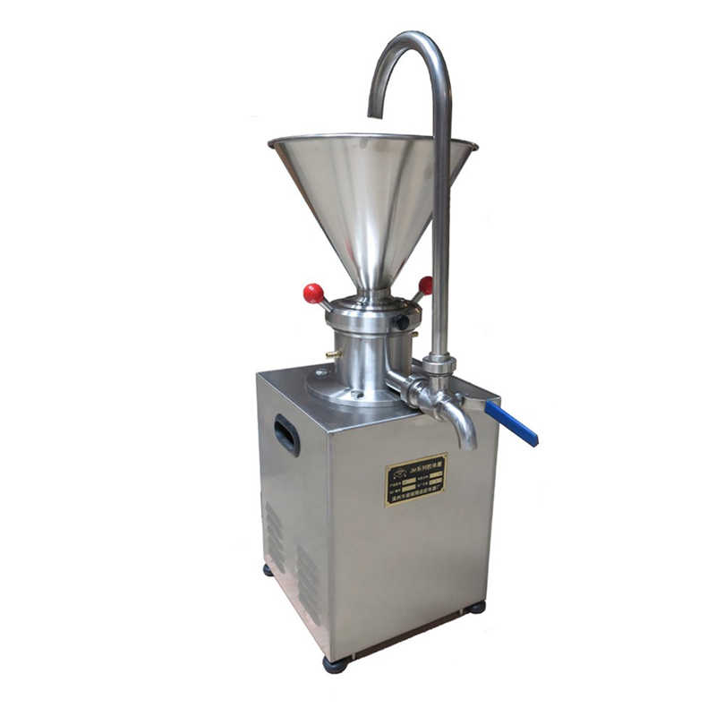Peanut Butter Maker Stainless Steel Peanut Grinder Vertical Colloid Mill Machine Pigment/Jam/Paste Grinding Machine
