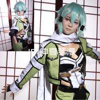 The Sword Art Online 2 SAO Sinon Cosplay Costumes Full Set