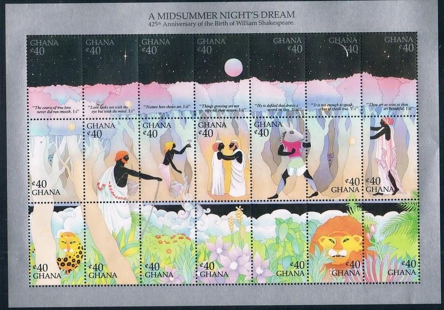 MU1056 Garner 1989 Shakespeare masterpiece A Midsummer Night's dream the new 1MS 0608 shakespeare – the four romances