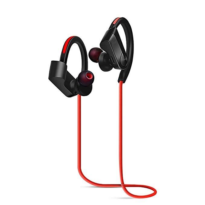 WiHOO Sport Bluetooth Headphones Wireless in-Ear Headphones Waterproof Earphones Outdoor Running Headphones for Women Men