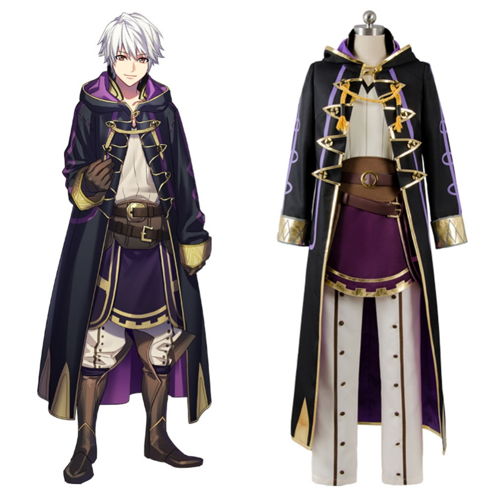 Halloween Cosplay Fire Emblem Awakening Avatar Mai Yunitto Robin Cosplay Costume Custom Made Full Set Free Shipping