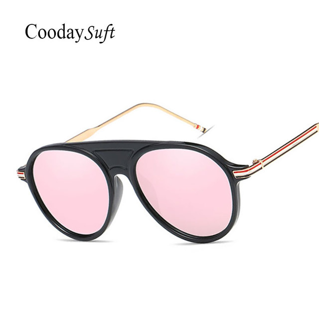 CVOO Sunglasses Women Goggle Glasses Oversized Metal Frame For Female Sunglasses Vintage Cool Designer Eyewear UV400 buwGOrGmS