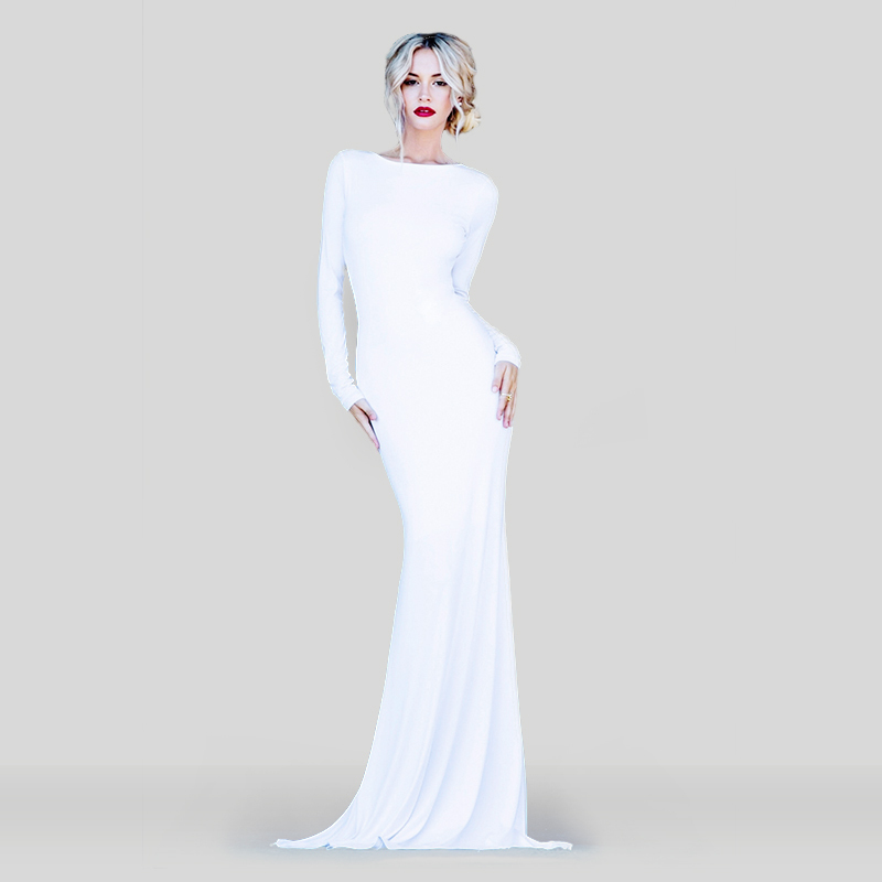 Vestido De Festa 2015 Best Design Sexy Backless Red White ...