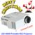 Asequible portátil Mini LED Proyector HDMI VGA SD AV USB Proyector Projetor para juego de presentación de visión
