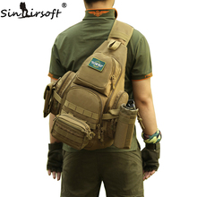 SINAIRSOFT 14iches Laptop Molle Military Backpack Men Nylon Sports Bag Shoulder Sling Waterproof Men's Travel Tactical Backpack