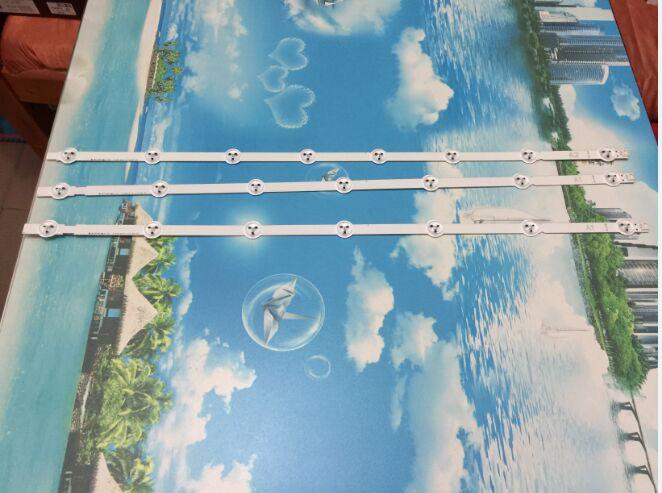 Free Shippinfor LG 32 Inch LCD Back Light 6916L-1204A 1205A 1426A 1437A 1438A 1295A 1296A 1440A 1439A 1set=3piece (2piece=7 LED)