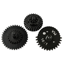цена на New Hunting Accessories 16:1 CNC steel cutting High Speed Gear Set for Ver.2 / 3 AEG Airsoft Gearbox