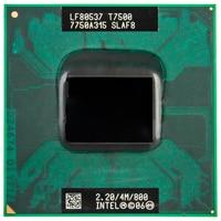 Процессор Intel Core 2 Duo T7500 CPU 4M Socket 479 Cache/2,2 GHz/800/двухъядерный процессор для ноутбука