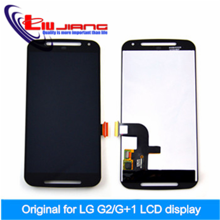 ФОТО 100% New Original LCD Display  For Motorola for MOTO G2 G+1 XT1063 XT1068 XT1069 LCD Touch Screen Digitizer Assembly frame+Gift
